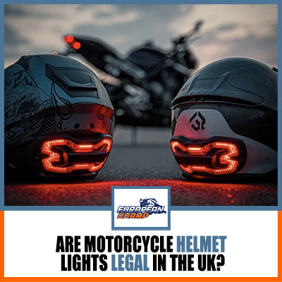 Are Motorcycle Helmet Lights Legal in the UK